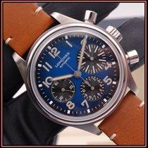 Longines Titanium Automatic Blue Arabic numerals 41mm pre-owned Avigation
