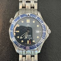 Omega Seamaster Diver 300 M Steel 36mm Blue United States of America, Florida, Delray Beach