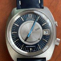 Omega Memomatic Steel 40mm Blue No numerals