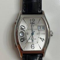 Ulysse Nardin Steel Automatic Silver Arabic numerals 38mm pre-owned Michelangelo