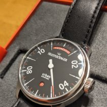 Meistersinger pre-owned Automatic 40mm Black Sapphire crystal