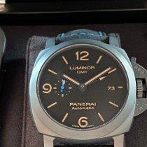 Panerai Luminor 1950 3 Days GMT Automatic nuevo 2021 Automático Reloj con estuche y documentos originales PAM 01441