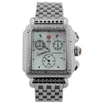 Michele Deco Steel 33mm Mother of pearl No numerals United States of America, California, Fullerton