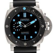 Panerai Luminor潜水47mm黑色无数字美国,宾夕法尼亚州,费城