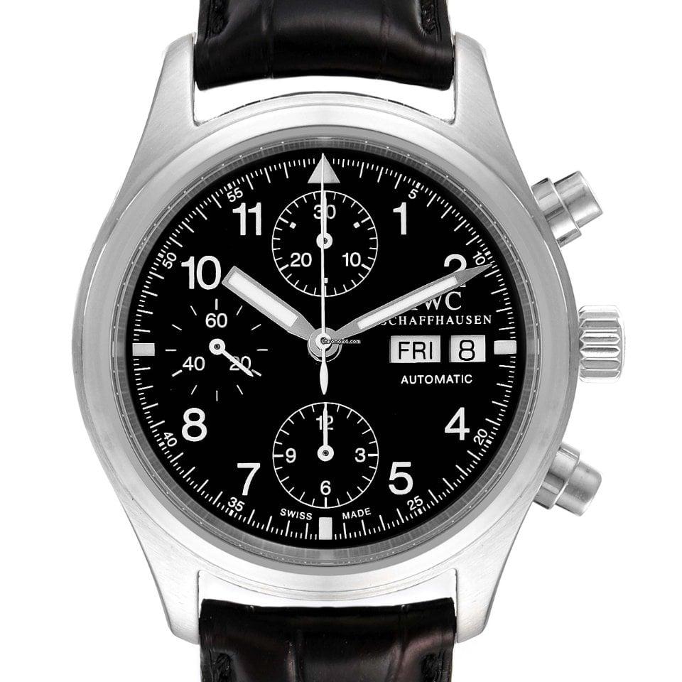 IWC 파일럿 크로노그래프 IW370603 중고시계