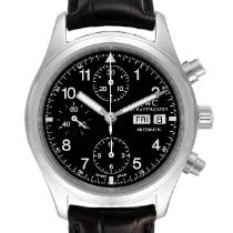 IWC Pilot Chronograph Steel 39mm Black Arabic numerals United States of America, Georgia, Atlanta