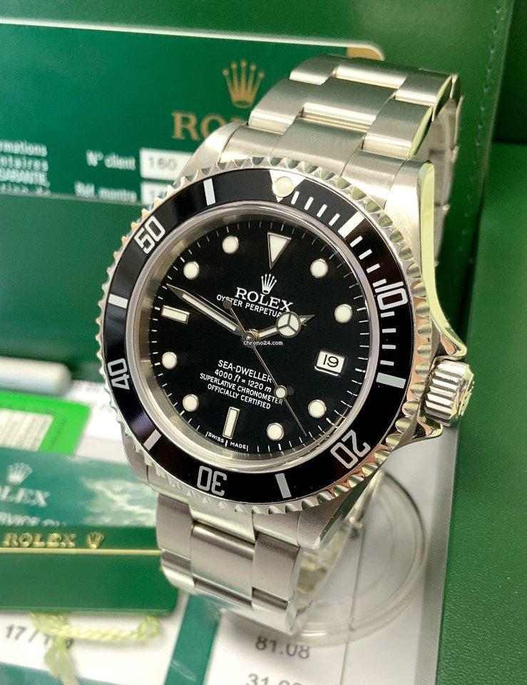 Rolex Sea-Dweller 4000 16600 2009 подержанные