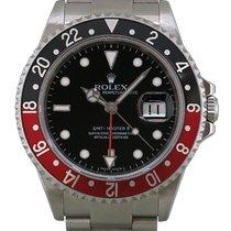 Rolex (ロレックス) GMT マスター II ステンレス 40mm ブラック