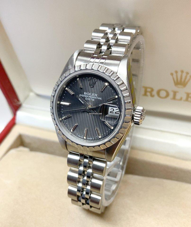 Rolex Oyster Perpetual Lady Date 69240 1992 подержанные
