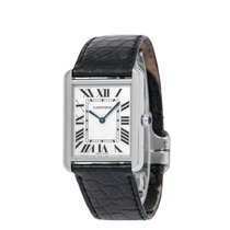 Cartier Tank Solo Steel 27mm Silver Roman numerals United States of America, New York, Hartsdale