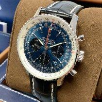 Breitling Navitimer 1 B01 Chronograph 43 Staal 43mm Blauw Geen cijfers