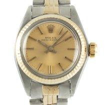 Rolex 6719 Ouro/Aço 1979 Oyster Perpetual 26 26mm usado