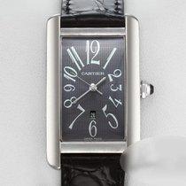 Cartier Tank Américaine Gold/Steel 26.6mm Grey Arabic numerals