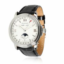 Blancpain Léman Moonphase Steel 38mm White United States of America, New York, New York
