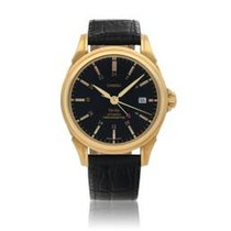 Omega De Ville Co-Axial Yellow gold 39mm Blue United States of America, New York, New York