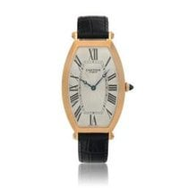 Cartier Tonneau Rose gold 29.5mm Silver United States of America, New York, New York