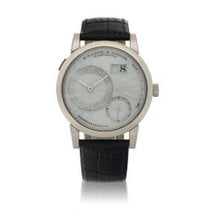 A. Lange & Söhne Lange 1 White gold 38.5mm Mother of pearl United States of America, New York, New York