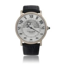 Cartier Rotonde de Cartier White gold 42mm Silver United States of America, New York, New York