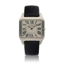 Cartier Santos Dumont White gold 35mm Silver United States of America, New York, New York