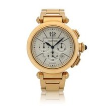 Cartier Pasha Yellow gold 42mm Silver United States of America, New York, New York