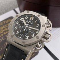 Audemars Piguet Royal Oak Offshore Chronograph Titanium 48mm Grey Arabic numerals