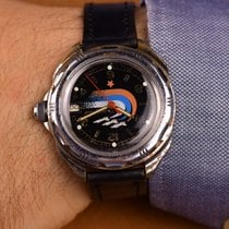 Vostok Russian Military Wrist Watch Bon Acier 43mm Remontage manuel