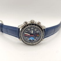 Omega Speedmaster Day Date Çelik 39mm Mavi Arap rakamları