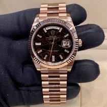 Rolex Day-Date 40 Oro rosa 40mm Marrone Italia, Milano