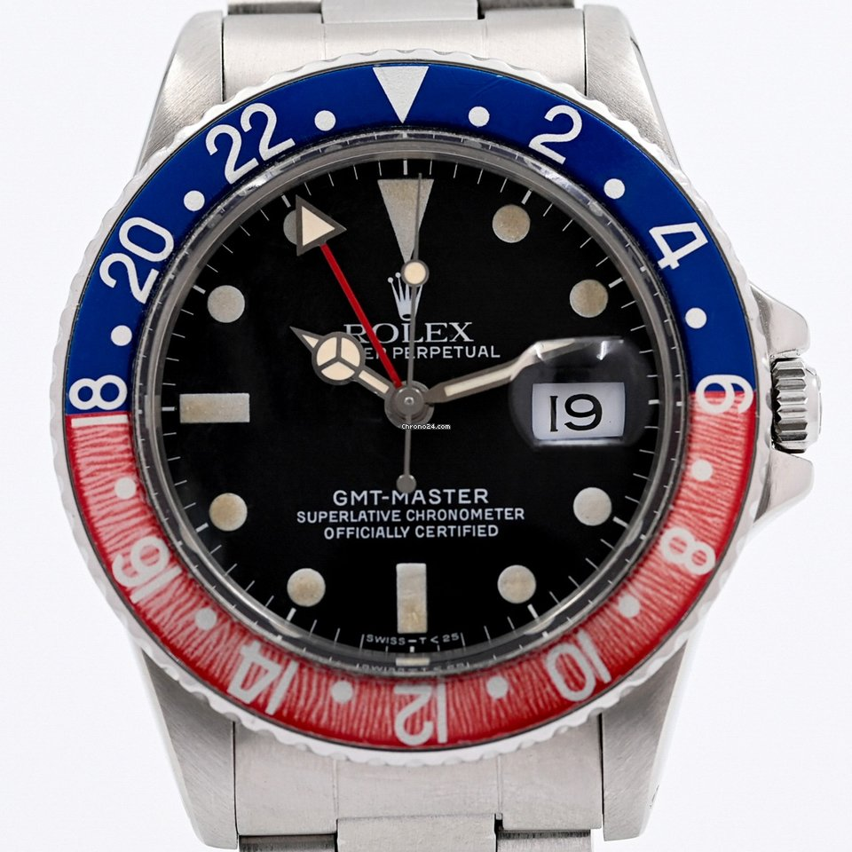 Rolex GMT-Master 16750 1982 pre-owned