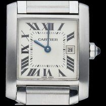 Cartier Steel 25mm Quartz 2465 pre-owned
