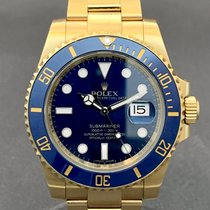Rolex Submariner Date Yellow gold 40mm Blue No numerals United States of America, Tennesse, Nasvhille