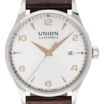 Union Glashütte Noramis Date Steel 40mm Silver