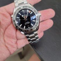 Omega Seamaster Planet Ocean Steel Black Arabic numerals Malaysia, Puchong