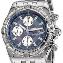 Breitling Chronomat Evolution Steel 43mm Mother of pearl No numerals United States of America, New York, Greenvale