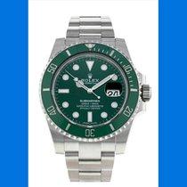 Rolex Submariner Date Steel 40mm Green No numerals UAE, Ras Al Khaimah