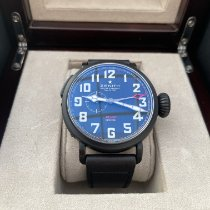 Zenith Pilot Type 20 GMT Titanium 48mm Black Arabic numerals
