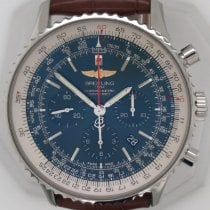 Breitling Navitimer 01 (46 MM) pre-owned 46mm Blue Chronograph Date Leather