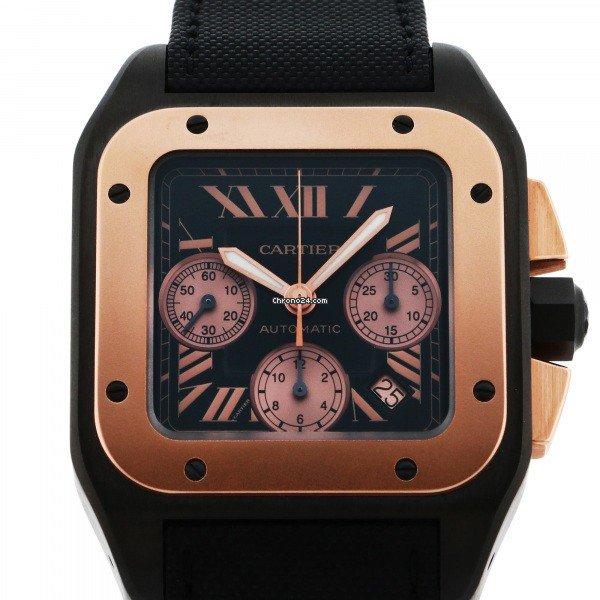 Cartier Santos 100 W2020004 new
