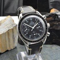 Omega Speedmaster Reduced Steel 39mm Black No numerals
