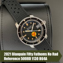 Blancpain Fifty Fathoms Steel 40.3mm Black United States of America, Florida, Coral Gables