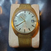 Omega Genève Yellow gold White No numerals