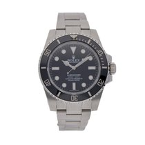 Rolex 114060 Steel 2017 Submariner (No Date) 40mm pre-owned