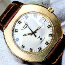 Longines Ultronic Gold/Steel 41.8mm Champagne No numerals United States of America, Illinois, Roscoe