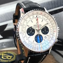 Breitling Navitimer Rattrapante AB0311211G1P1 Ongedragen Staal 45mm Automatisch