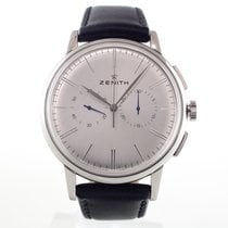Zenith Elite Chronograph Classic Acier 42mm Sans chiffres