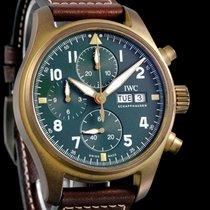 IWC Pilot Spitfire Chronograph IW387902 Unworn Bronze 41mm Automatic