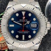 Rolex Yacht-Master 40 Çelik Mavi Rakamsız