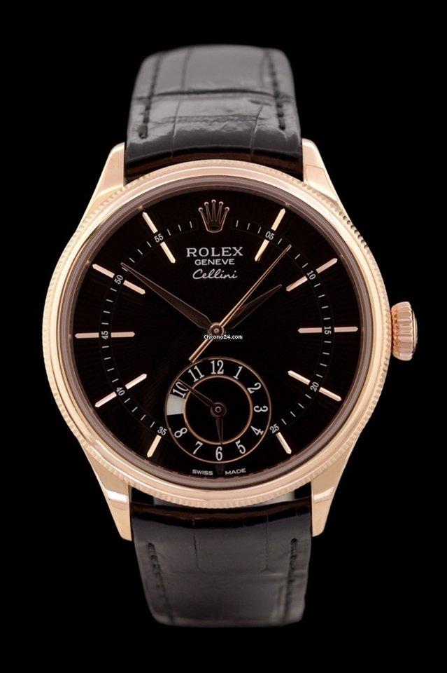 Rolex Cellini Dual Time 50525 2018