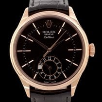 Rolex Cellini Dual Time 50525 Rose gold 39mm Automatic