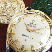 Omega (オメガ) Constellation ステンレス 35mm ホワイト アラビアインデックス 日本, yokohamasi